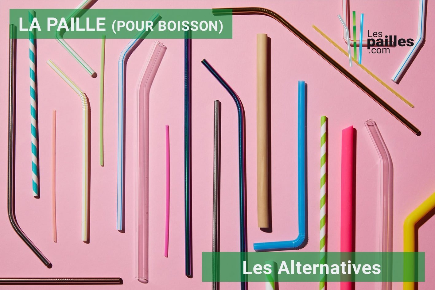 alternative paille plastique