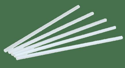 belles pailles pla sans plastique blanches pour bar et restaurant