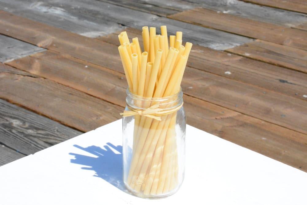 pailles en pates biodegradables jetable pour boisson