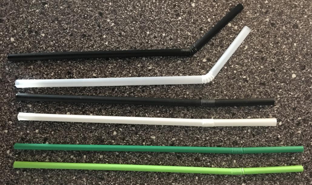 Pailles flexibles PLA amidon mais