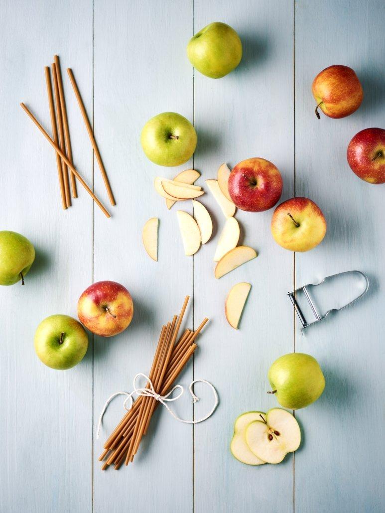 Paille en Pomme Comestible Ecologique