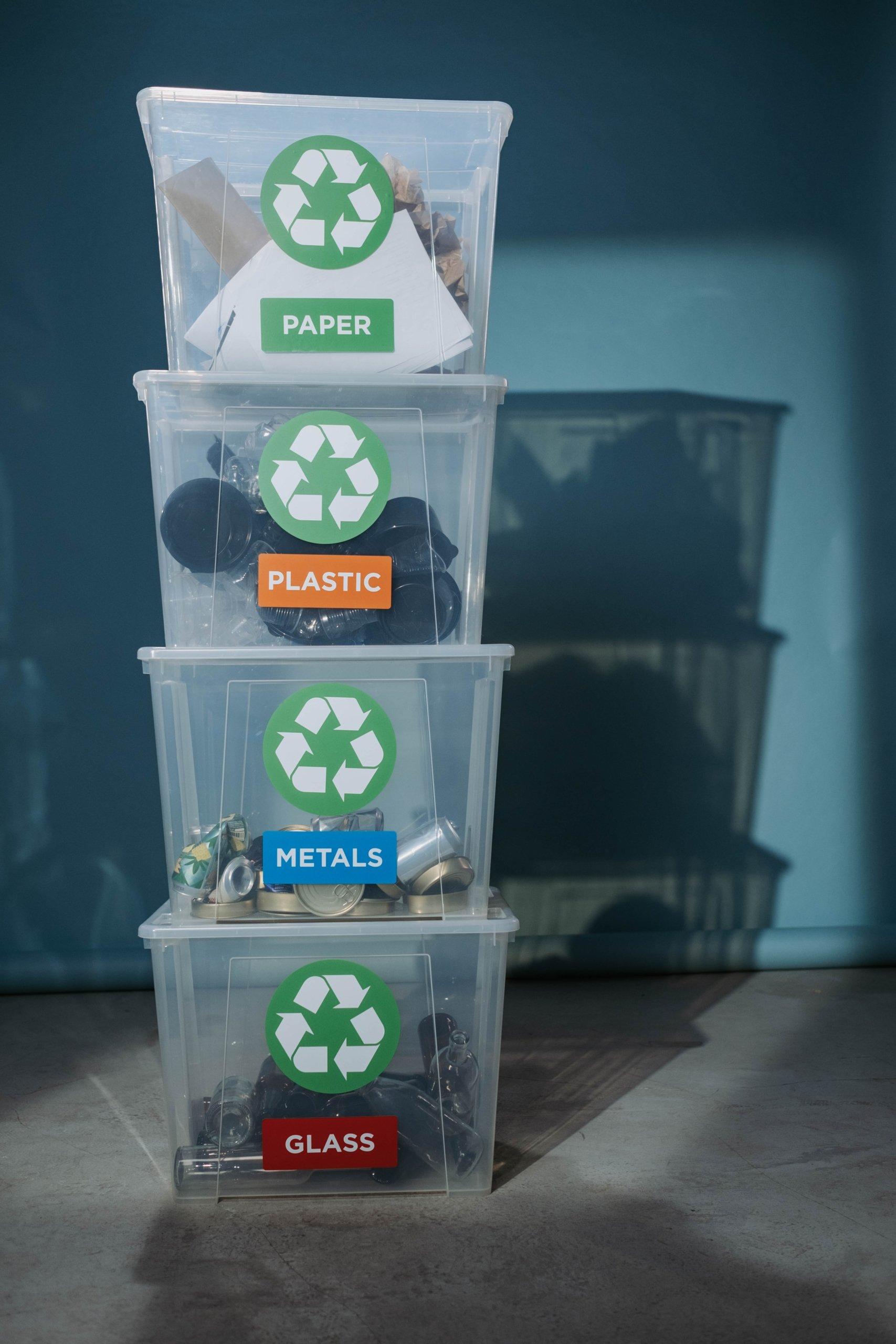 trier et recycler pour réduire la pollution plastique
