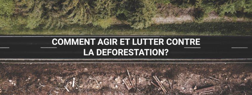 Deforestation : comment agir ?
